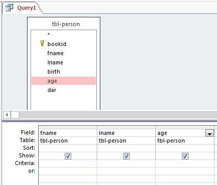 نگاهی جامع به انواع Query ها و کاربرد آنها در اکسس