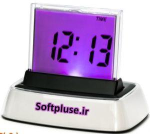 ساعت دیجیتال در اکسس