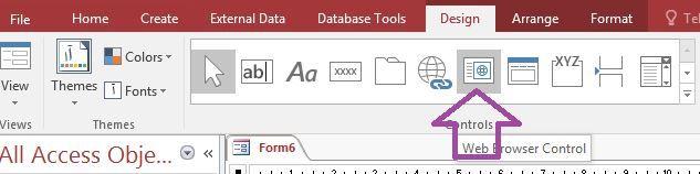 سند PDF در اکسس