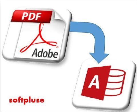 نحوه نمایش یک سند PDF  در اکسس