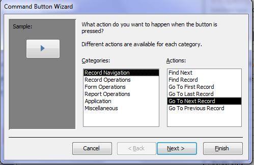 مدیریت فرم ها در اکسس