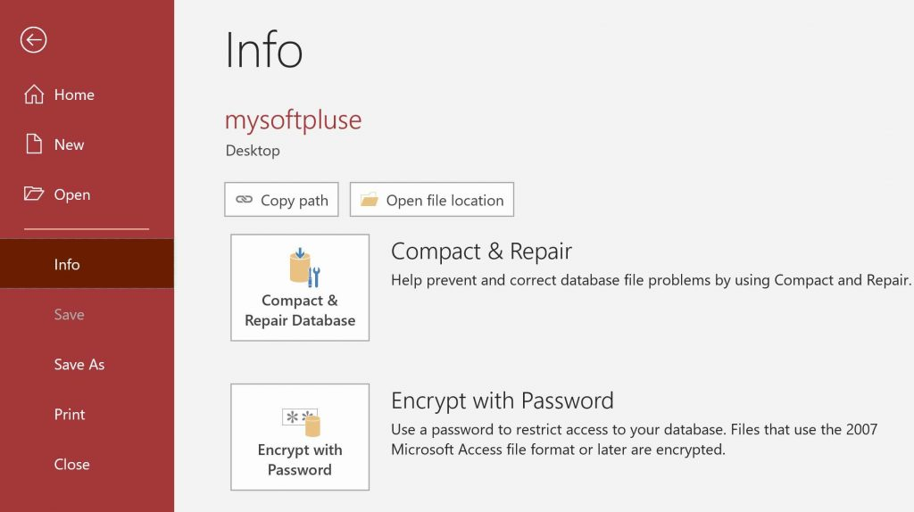 کپی کردن اطلاعات اکسس